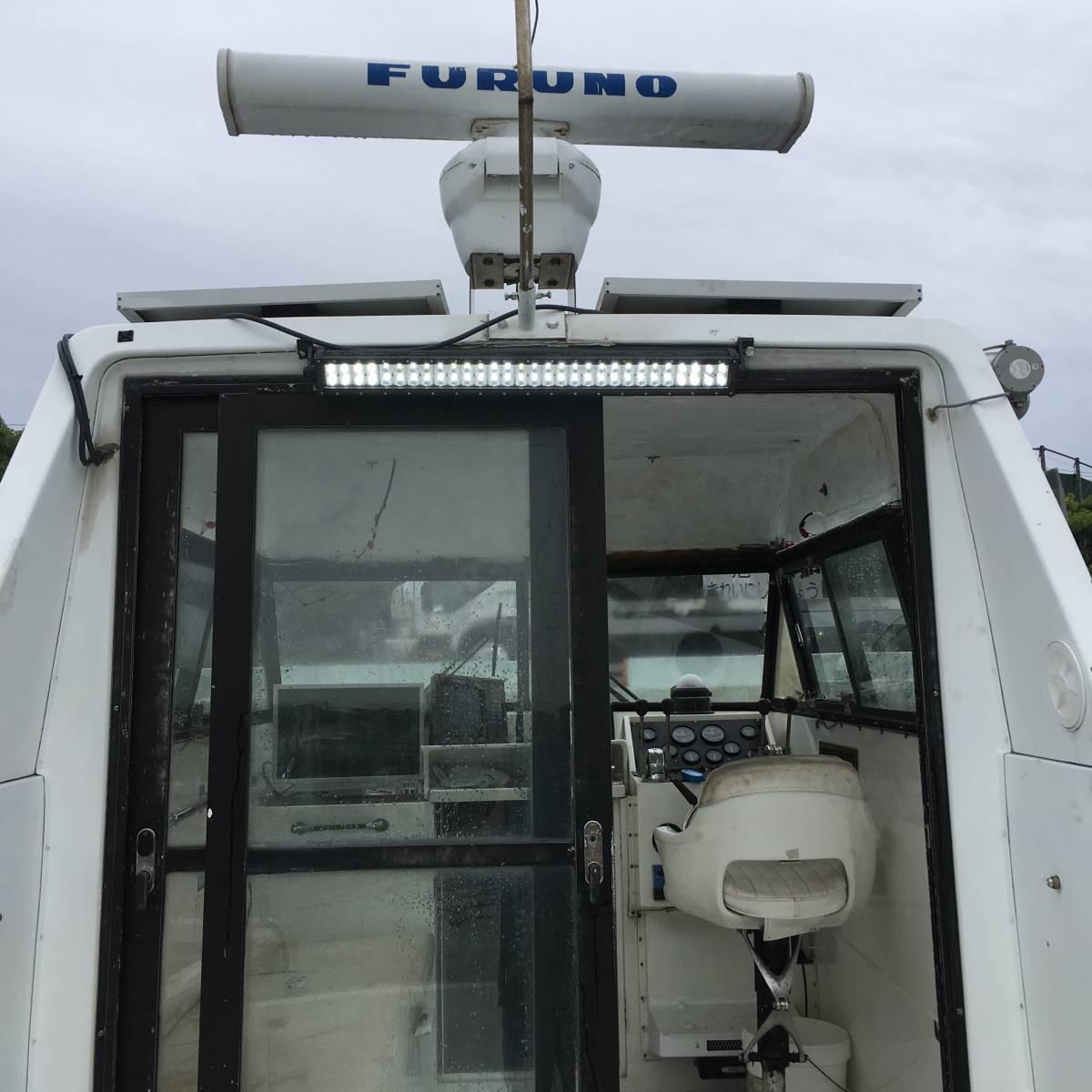 ☆彡30FT シャフト船 いすゞターボ230馬力2基 トイレ・魚探新品 フィッシングボート_画像3