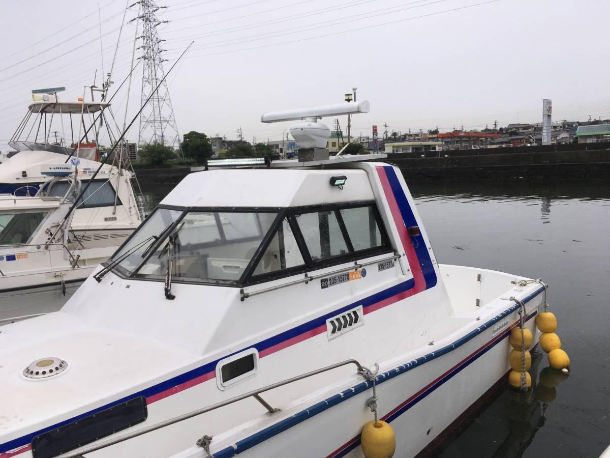 ☆彡30FT シャフト船 いすゞターボ230馬力2基 トイレ・魚探新品 フィッシングボート_画像10
