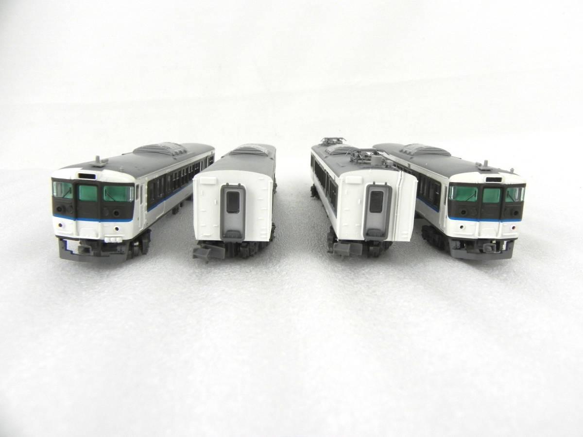 [Q1927]MicroAce A-3652 115系3000番代・30N更新車・基本4両セット Nゲージ 鉄道模型_画像5