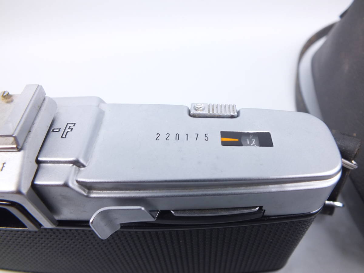 OLYMPUS オリンパス/PEN-F ハーフ一眼レフカメラ /ボディ/ジャンク/ケース付き/管D0339_画像5