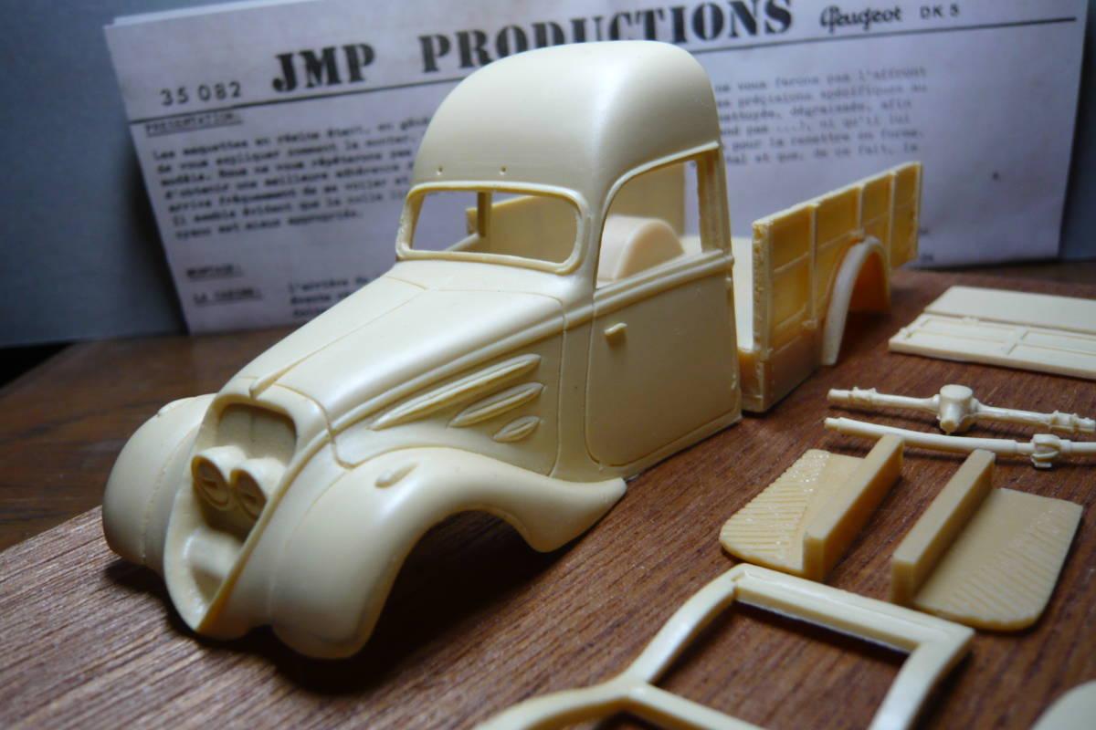 39-41 Peugeot DK5  *JMP company 1/35* resin kit   etching