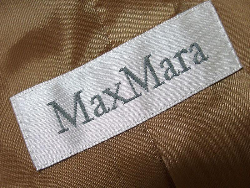♪至福の素材纏う 美品 イタリア製 MAX MARA マックスマーラ 最高級キャメルへアー100% 2Bテーラードジャケット 最高峰白タグ 42♪_画像5