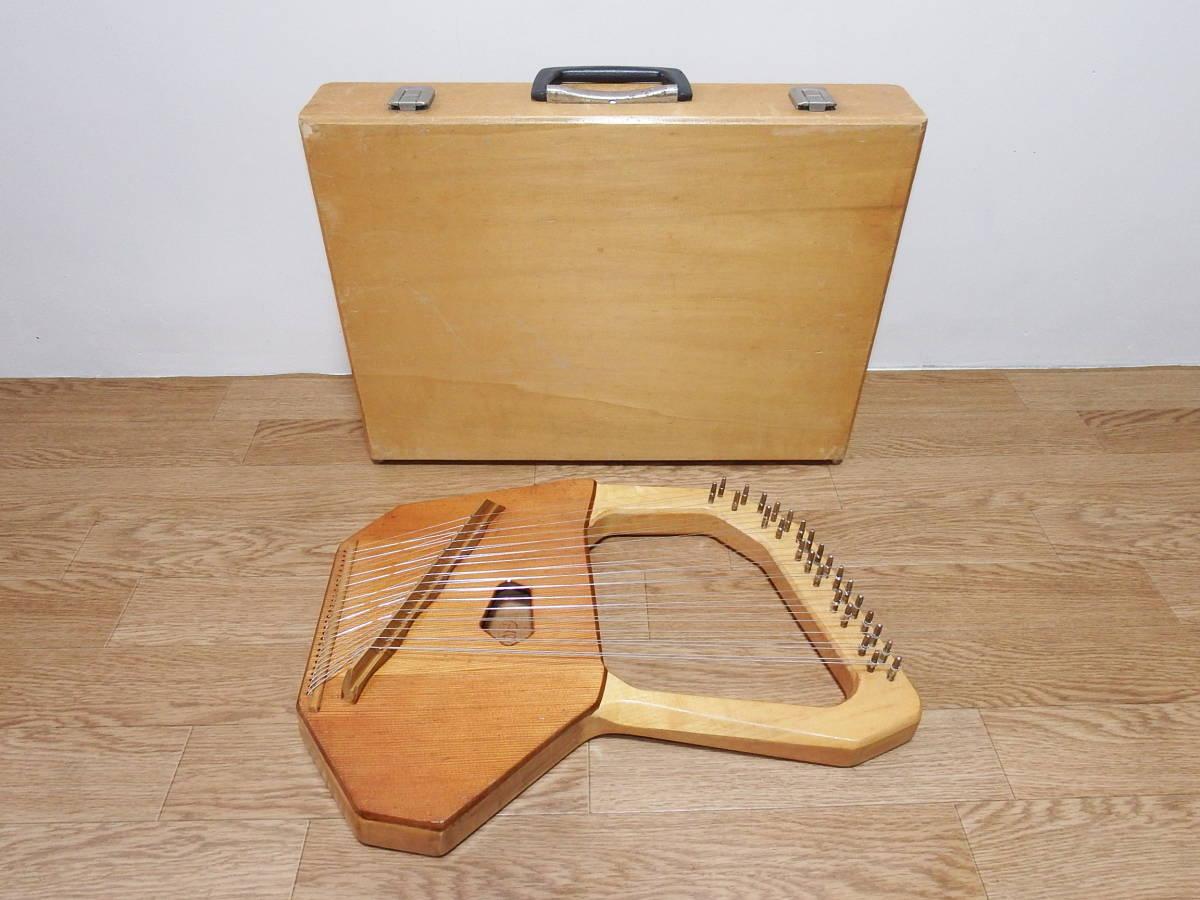 CHOROI コロイ小型ソプラノライアーE130 27弦 たて琴 竪琴 ミニハープ 最後の1台_画像2