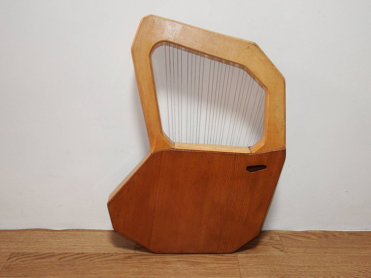 CHOROI コロイ小型ソプラノライアーE130 27弦 たて琴 竪琴 ミニハープ 最後の1台_画像4