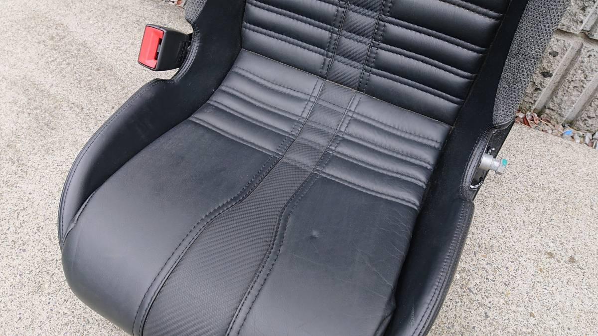 ロータス・エキシージS V6 純正シート エリーゼ LOTUS EXIGE フルバケ 検索 レカロ ブリッド_画像3