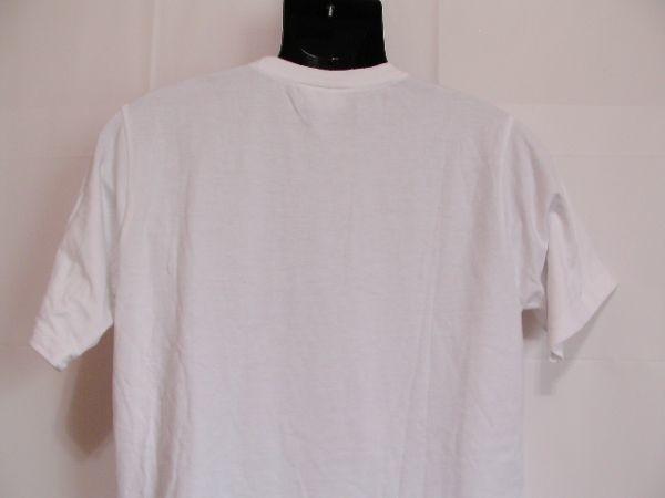 ssy240 半袖 Tシャツ ホワイト ■ キャラクタープリント ■ ONE PIECE ■ ワンピース クルーネック 丸首 綿混素材_画像7