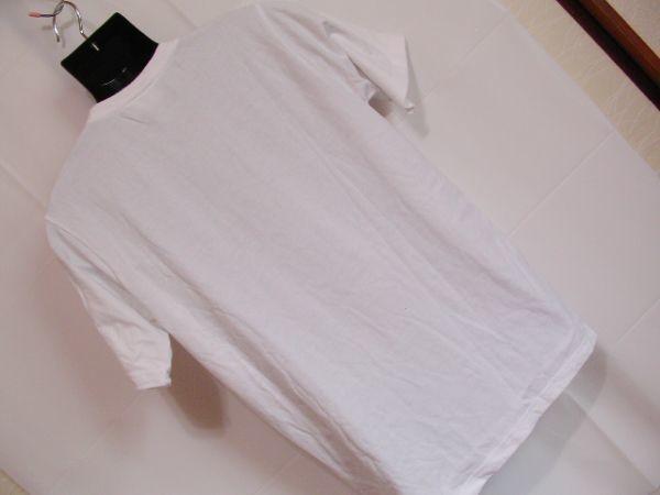 ssy240 半袖 Tシャツ ホワイト ■ キャラクタープリント ■ ONE PIECE ■ ワンピース クルーネック 丸首 綿混素材_画像10