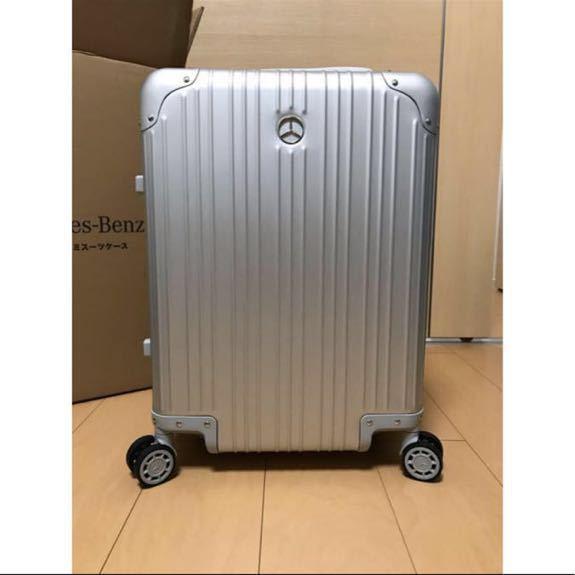 新品未使用 メルセデスベンツ オリジナルスーツケース 機内持ち込み可能サイズ