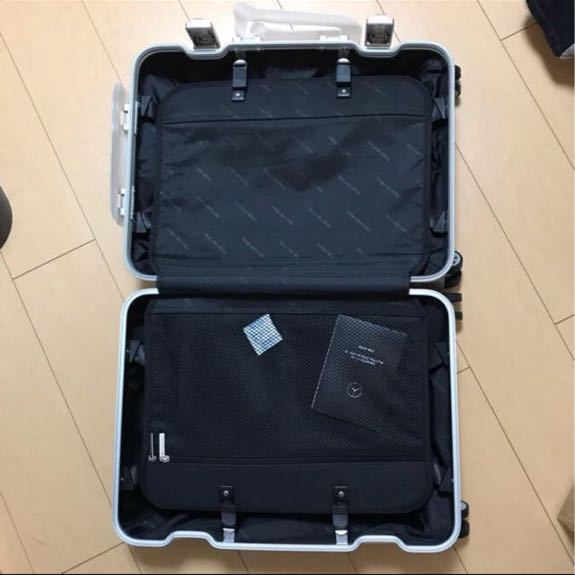 新品未使用 メルセデスベンツ オリジナルスーツケース 機内持ち込み可能サイズ_画像3