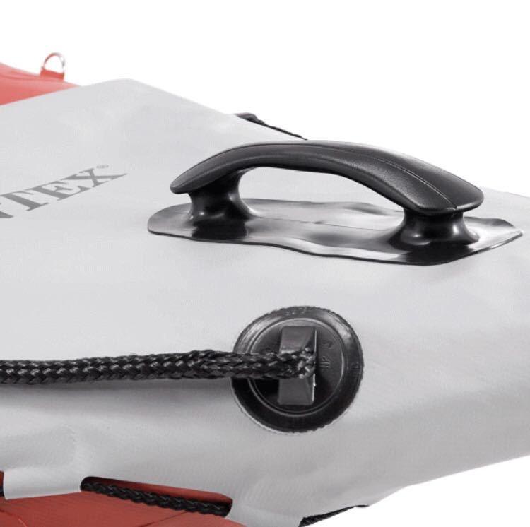 【即決★新品未使用未開封】 INTEX EXCURSION PRO 2人用 カヤック kayak エクスカーションプロ アウトドア 川 釣り 海 camp インテックス_画像7