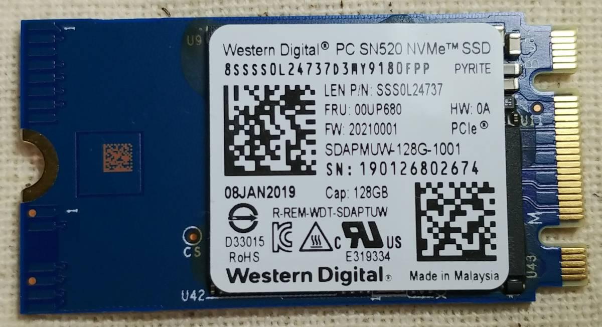 代購代標第一品牌- 樂淘letao - NVMe 128GB 2242 SSD WD M 2 PCIe 即納