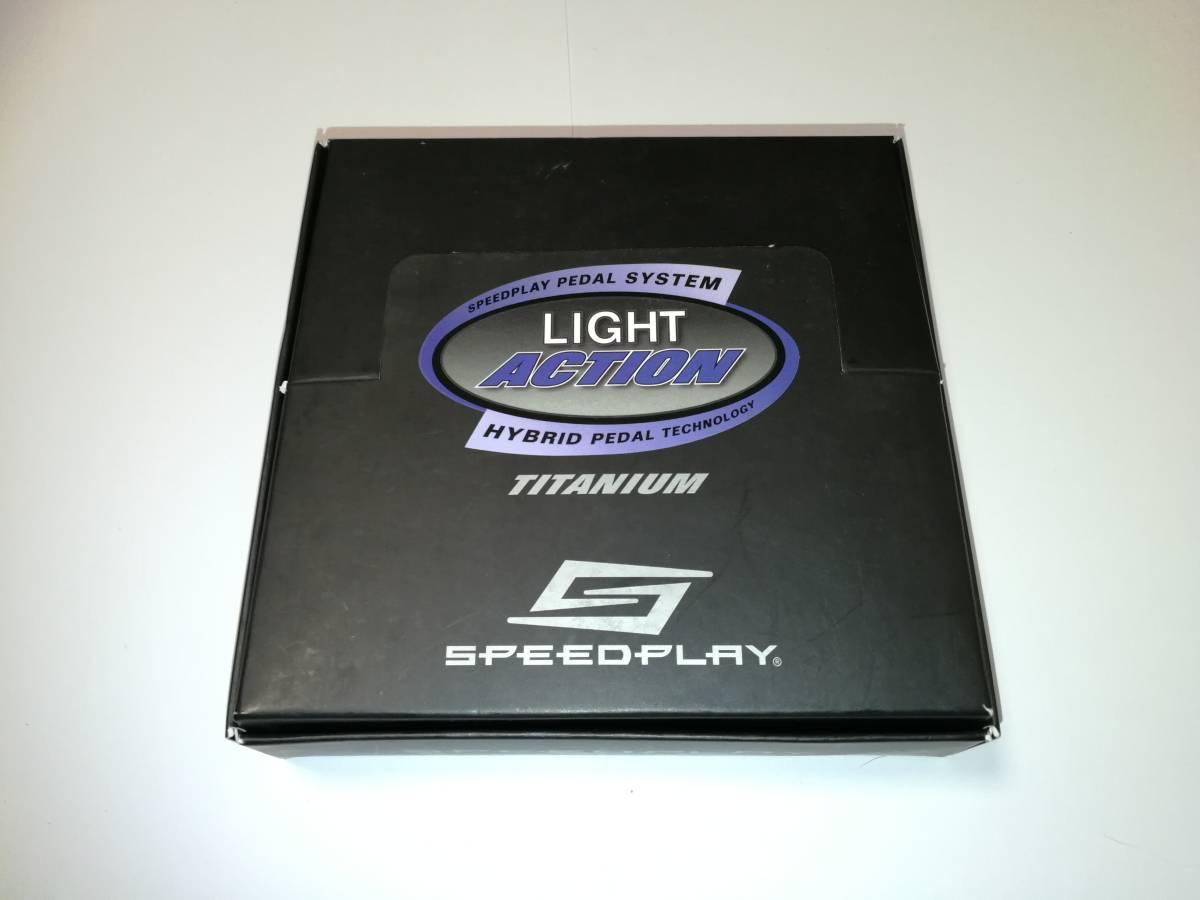 【美品】スピードプレイ Speedplay Light action titanium チタンペダルセット_画像3