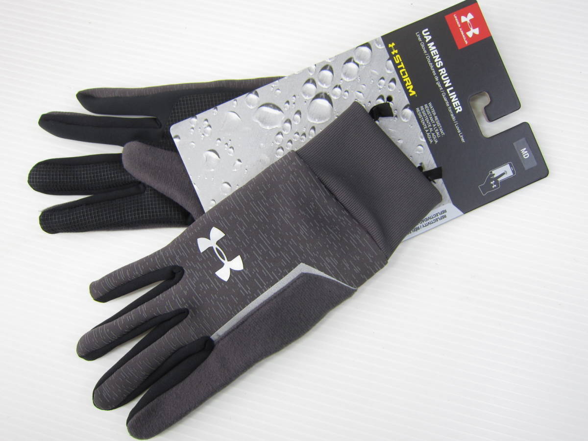 Under Armour Mens CGI Run Liner Glove Guantes Hombre