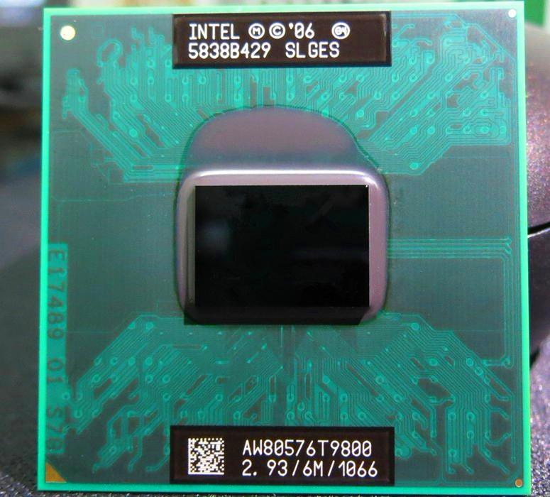 超美品☆ Intel Core2 Duo Mobile T9800 2.93GHz シリコングリス付 動作確認 #2