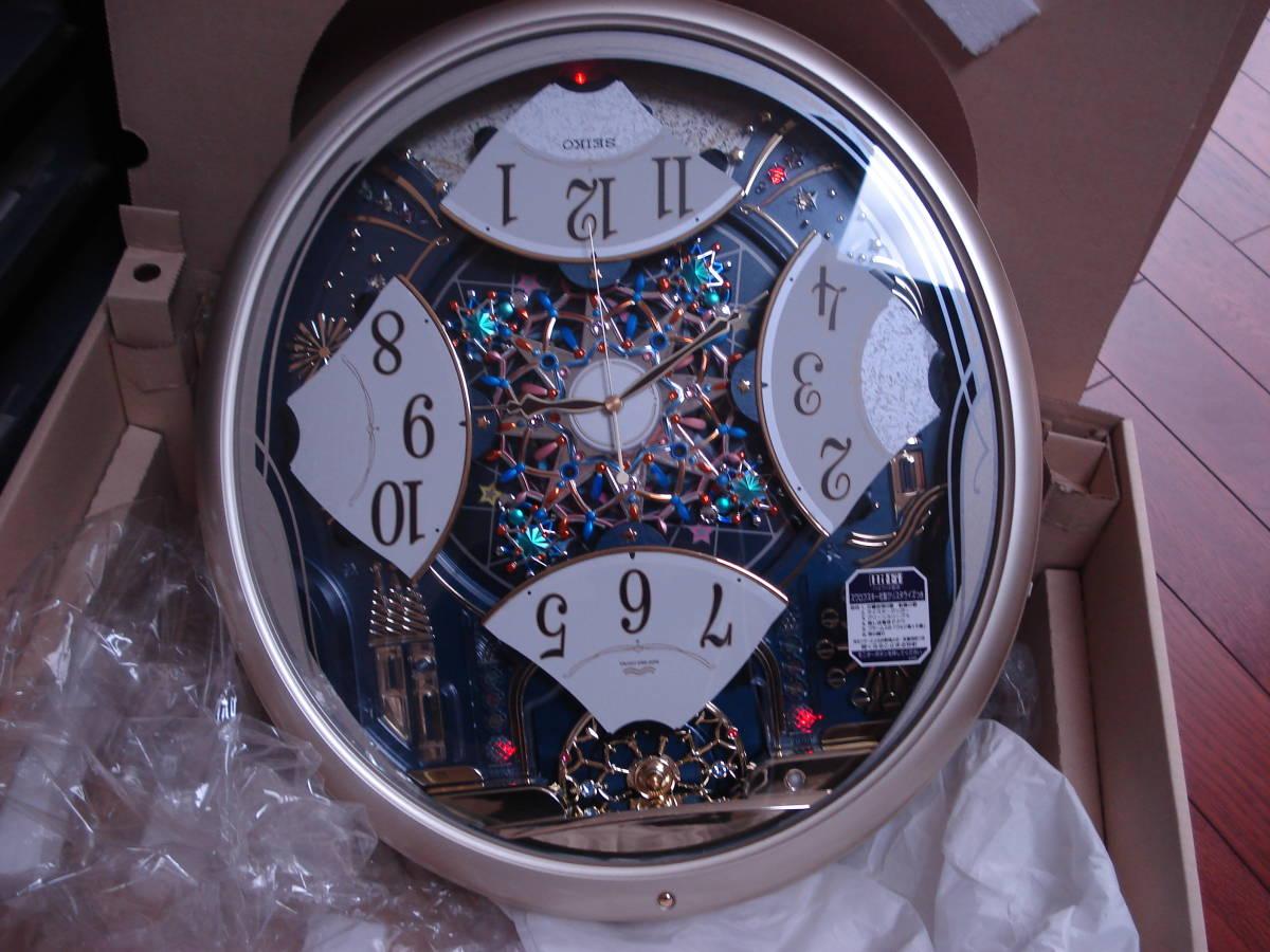 セイコー(SEIKO) 掛時計 ♪ 電波クロック 型番RE561H 長期保管品 ♪ 格安5円から売切り_画像2