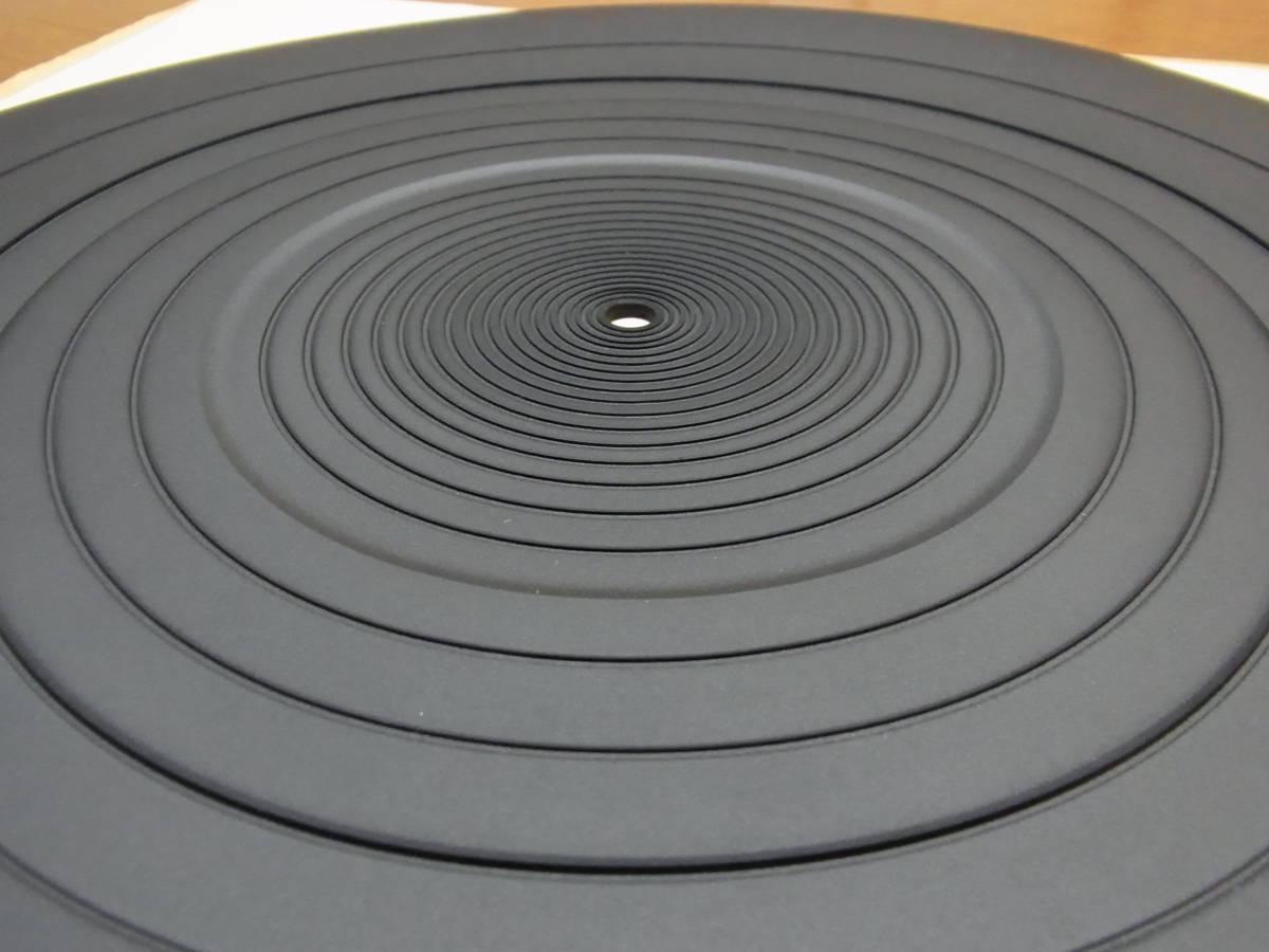 【即決/送料無料】アナログプレーヤー用  高品質ターンテーブルゴムシート 新品 1枚  _画像4