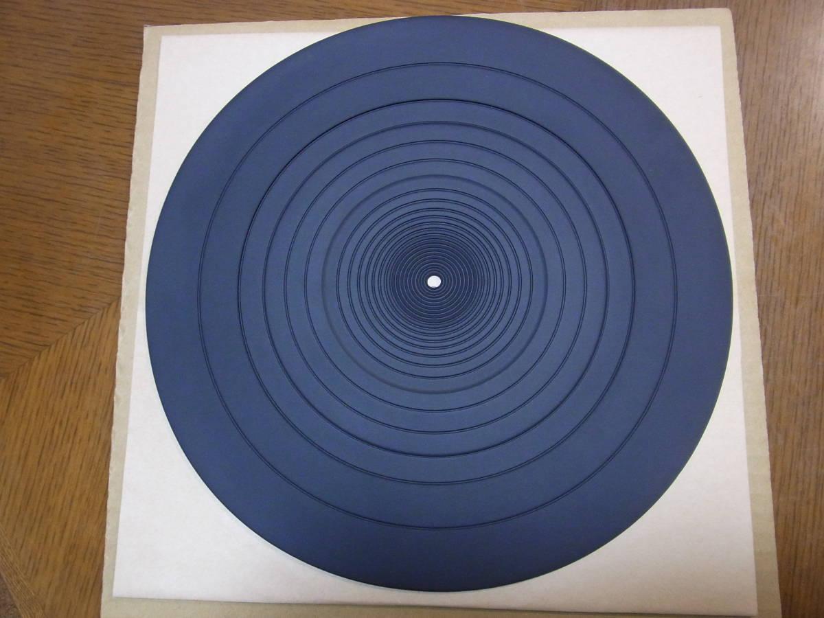 【即決/送料無料】アナログプレーヤー用  高品質ターンテーブルゴムシート 新品 1枚  _画像2