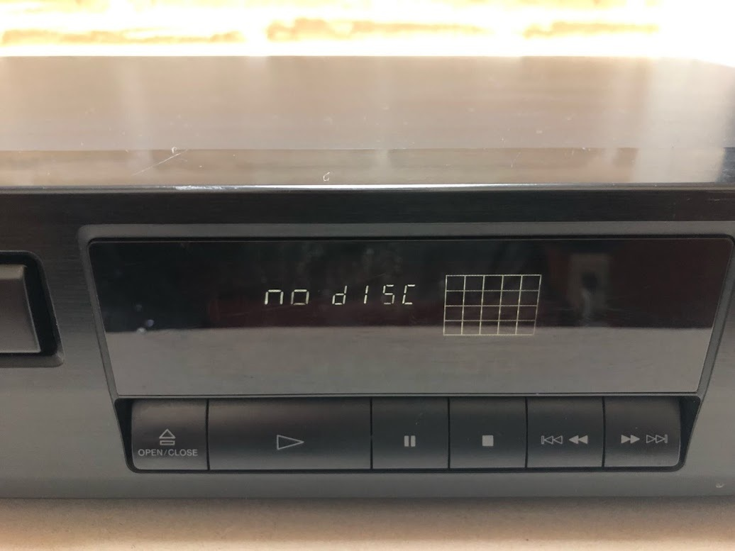 SONY/ソニー COMPACT DISC PLAYER CDP-261 CDプレイヤー 現状中古品 ジャンク扱い(A414)_画像3