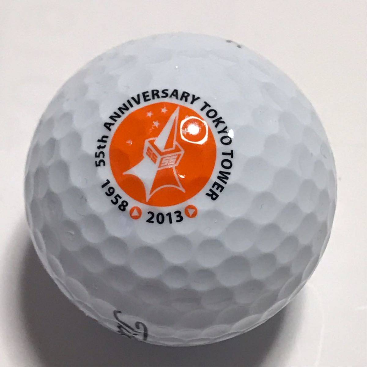 TITLEIST タイトリスト 東京タワー 55周年記念 ゴルフ ボール_画像1