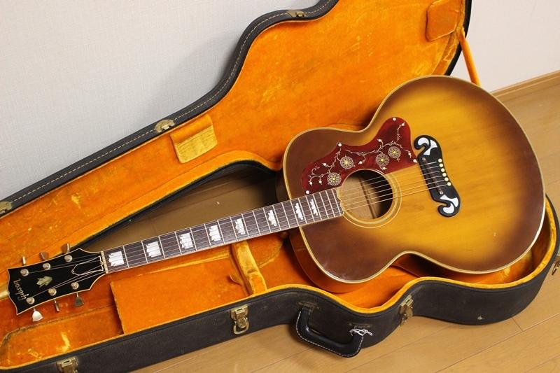 激レア Gibson 1969年製 J-200 アイスティーバースト ギブソン J200 オリジナルハードケース付き