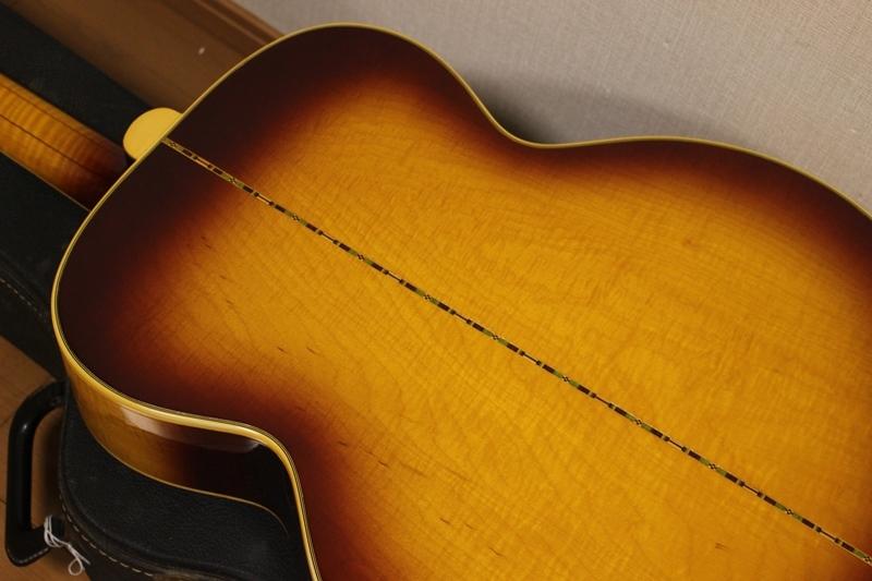 激レア Gibson 1969年製 J-200 アイスティーバースト ギブソン J200 オリジナルハードケース付き_画像5