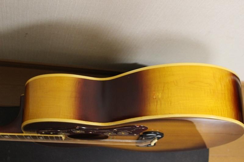 激レア Gibson 1969年製 J-200 アイスティーバースト ギブソン J200 オリジナルハードケース付き_画像8