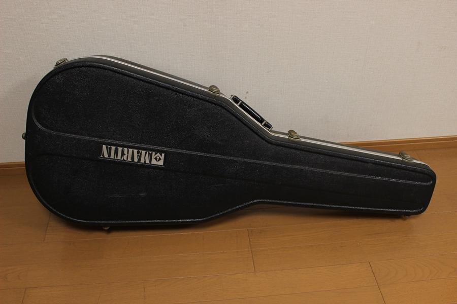 Martin マーティン ブラックケース カギ付き 1978年製 D-28 付属品