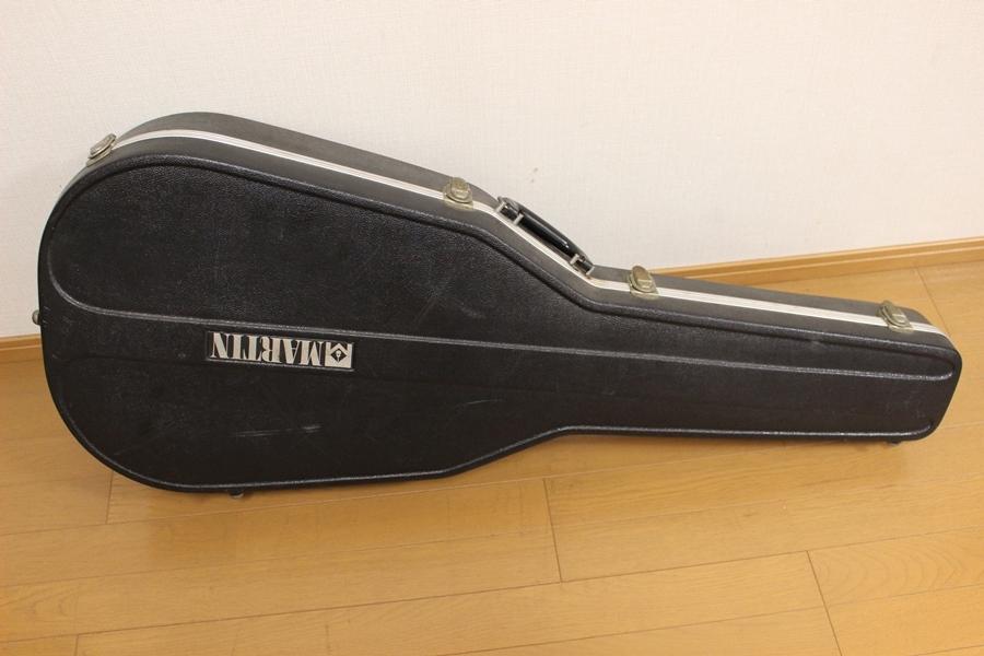Martin マーティン ブラックケース カギ付き 1978年製 D-28 付属品_画像7