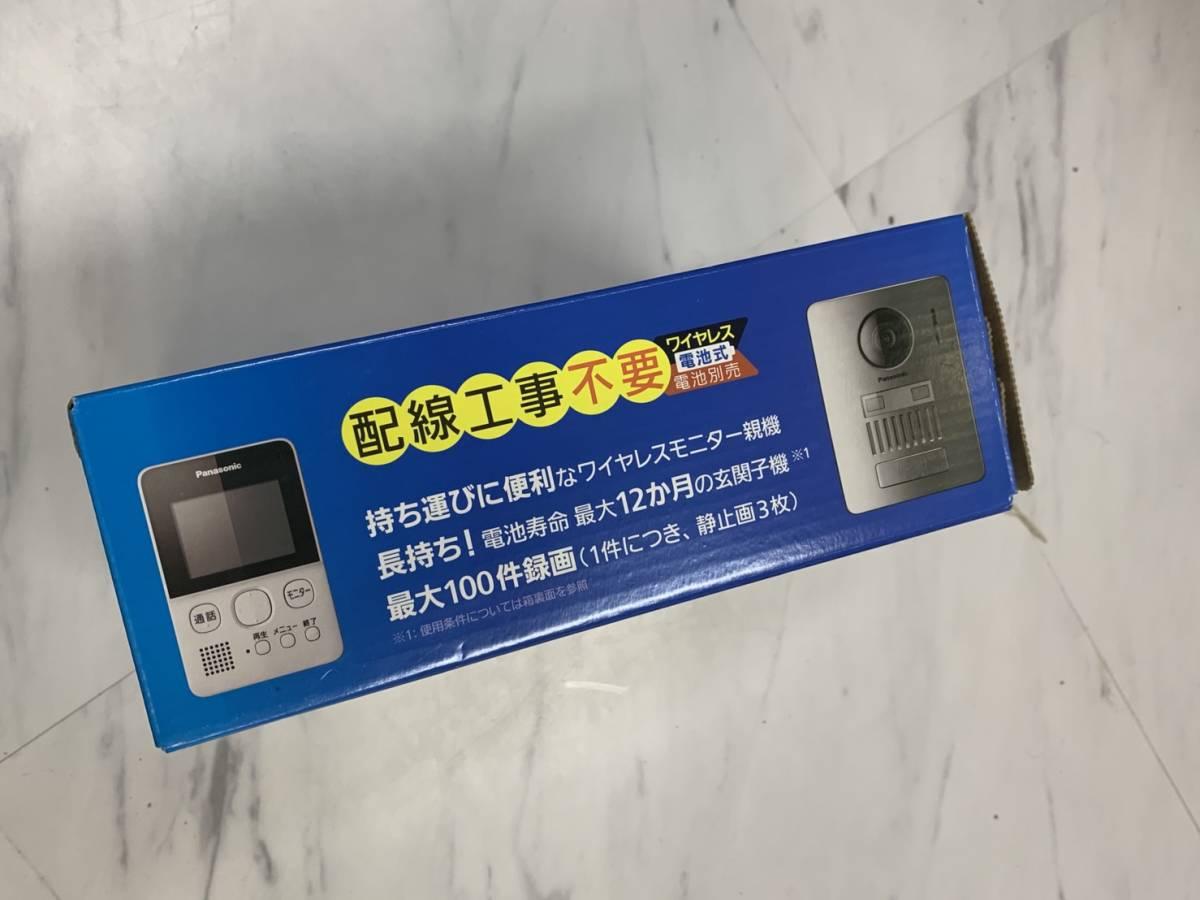 新品 Panasonic  パナソニック ワイャレステレビドアホン VL-SGD10L_画像2