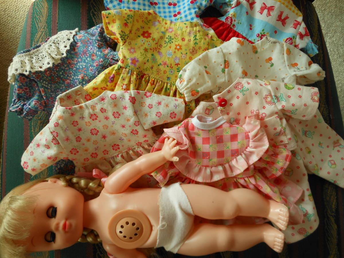 三つ編みの女の子 お人形洋服と本体