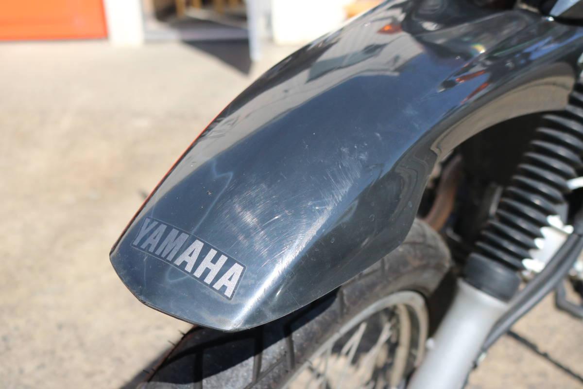 格安スタート!ヤマハ XTZ125 リアキャリア付き タイヤ前後9部山 人気の原付き登録125cc!_画像4