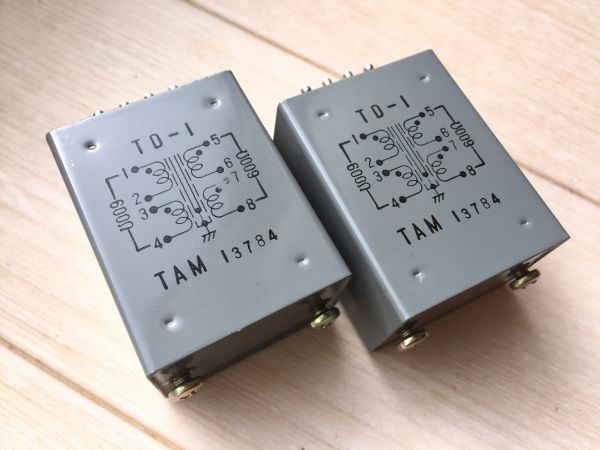 TD-1 トランス タムラ CD DAC mc Tango 高音質 オーディオ アンプ マイク denon Partridge utc tamura 電子部品 製作所 ぺるけ
