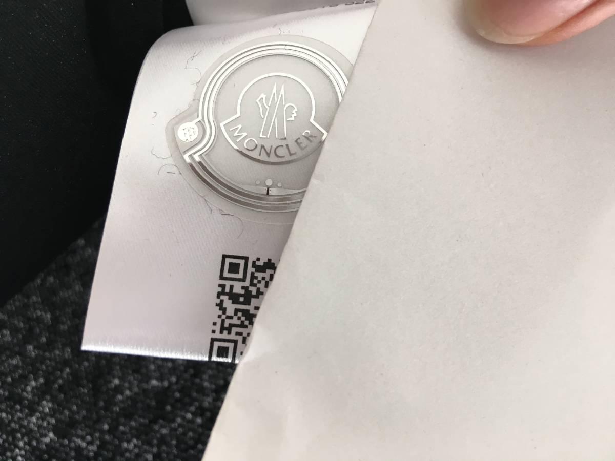 新品 本物 モンクレール モヘア リボン ニット S 黒 ブラック MONCLER ニット セーター トップス カットソー ウール_画像9
