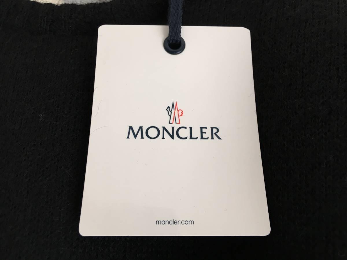 新品 本物 モンクレール モヘア リボン ニット S 黒 ブラック MONCLER ニット セーター トップス カットソー ウール_画像10