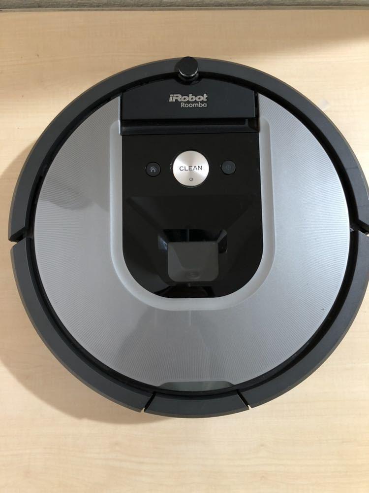 ★【動作確認済/美品】iRobot/アイロボット Roomba/ルンバ 960 シルバー系 ロボット掃除機_画像2