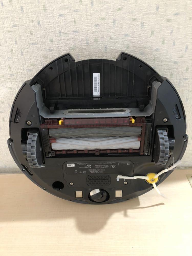 ★【動作確認済/美品】iRobot/アイロボット Roomba/ルンバ 960 シルバー系 ロボット掃除機_画像3