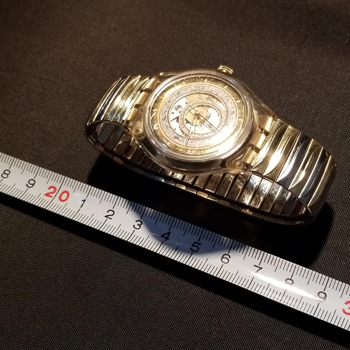 スオッチ、自動巻きSwatch。スケルトンの稼働品。_画像5