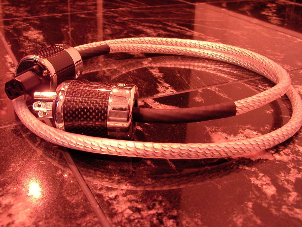 NORDOST Valhallaとほぼ同じ素材 【電4】472 電源ケーブル 1m 締まった超低音 Power Cable