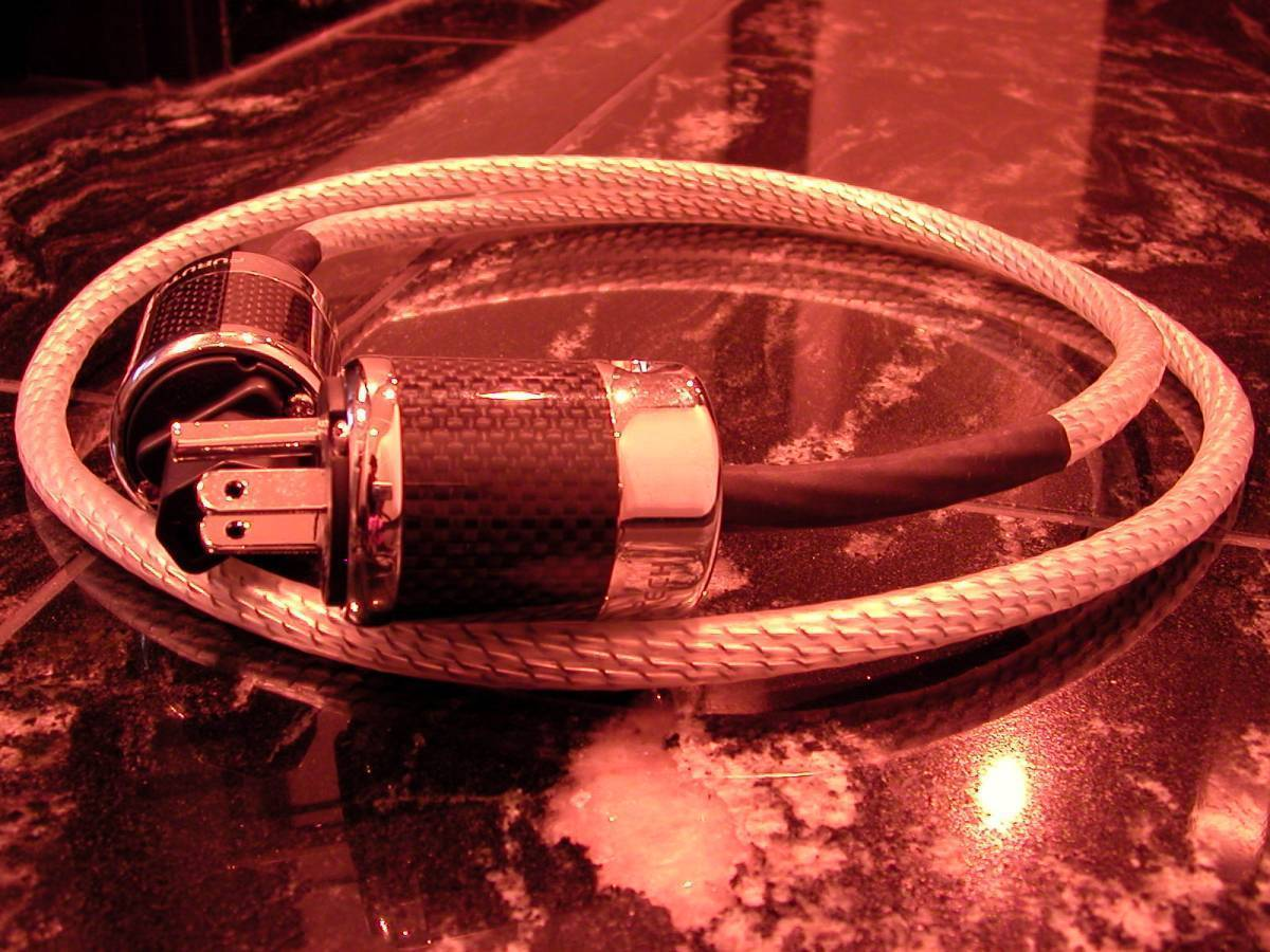 NORDOST Valhallaとほぼ同じ素材 【電4】472 電源ケーブル 1m 締まった超低音 Power Cable_画像3