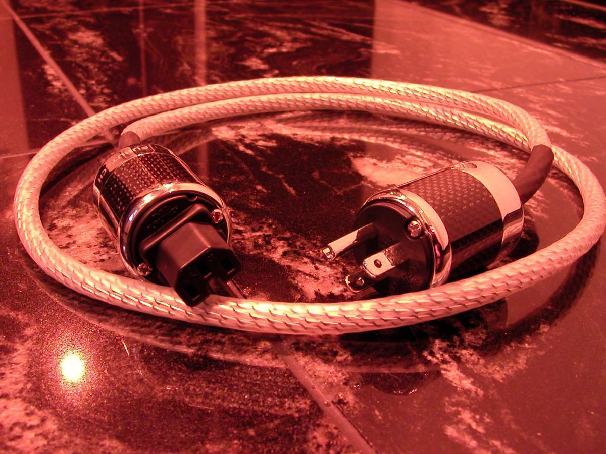 NORDOST Valhallaとほぼ同じ素材 【電4】472 電源ケーブル 1m 締まった超低音 Power Cable_画像2