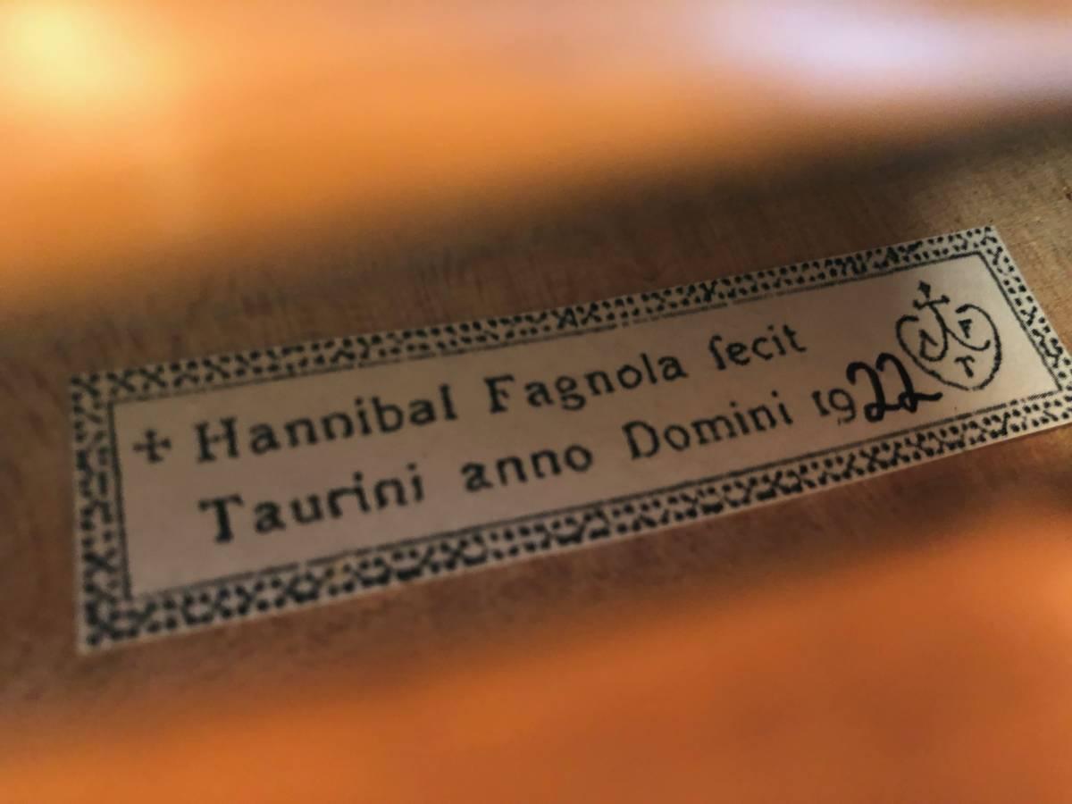 Hannibal Fagnola Trino 1922_画像4