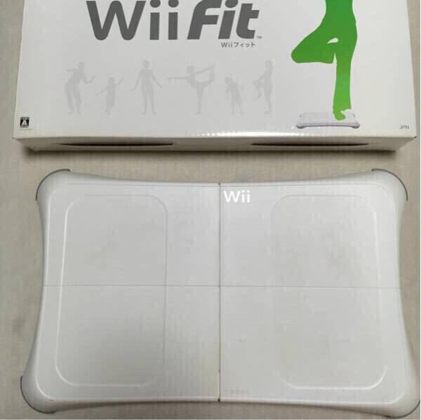 Wii Wii Fit フルセット_画像2