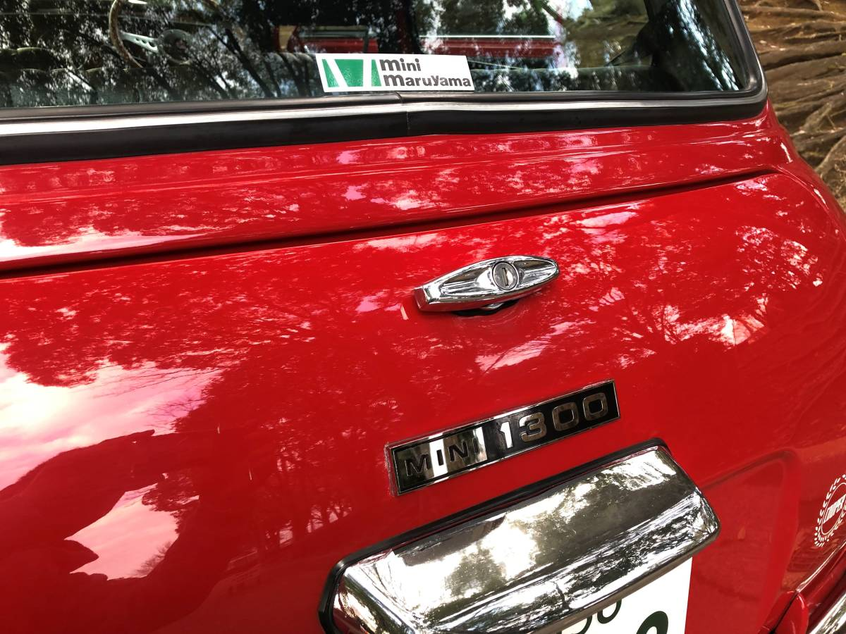必見! 超美車 程度絶好調 ローバー ミニ1.3 赤 モトリタ ジョンクーパー 1円スタート ステンレスバンパ- プレミア 車検有_画像4