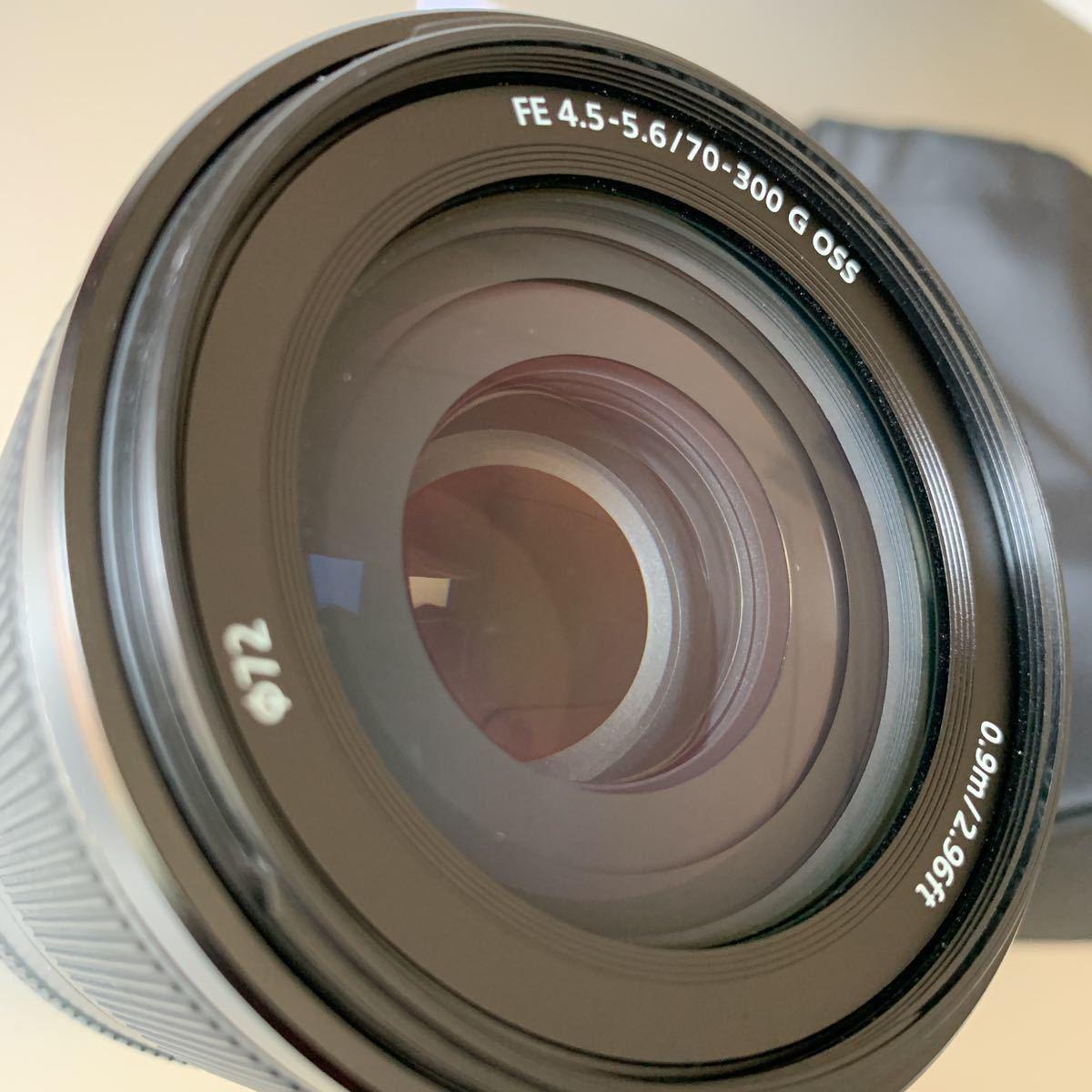 SONY ソニー FE 70-300 ㎜ F4.5-5.6 G OSS SEL70300G _画像2