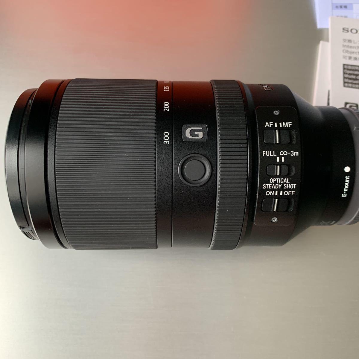 SONY ソニー FE 70-300 ㎜ F4.5-5.6 G OSS SEL70300G _画像4
