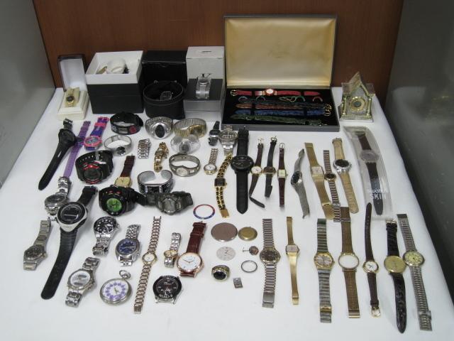 腕時計 まとめ SEIKO/SUUNTO/TAG HEUER/BALLY/G-SHOCK他 大量セット 約2kg ジャンク セイコー/スント/タグホイヤー/イヴサンローラン