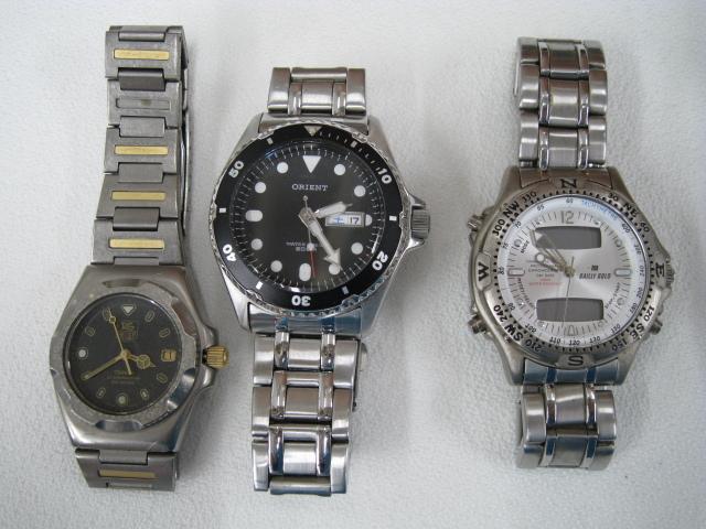 腕時計 まとめ SEIKO/SUUNTO/TAG HEUER/BALLY/G-SHOCK他 大量セット 約2kg ジャンク セイコー/スント/タグホイヤー/イヴサンローラン_画像2