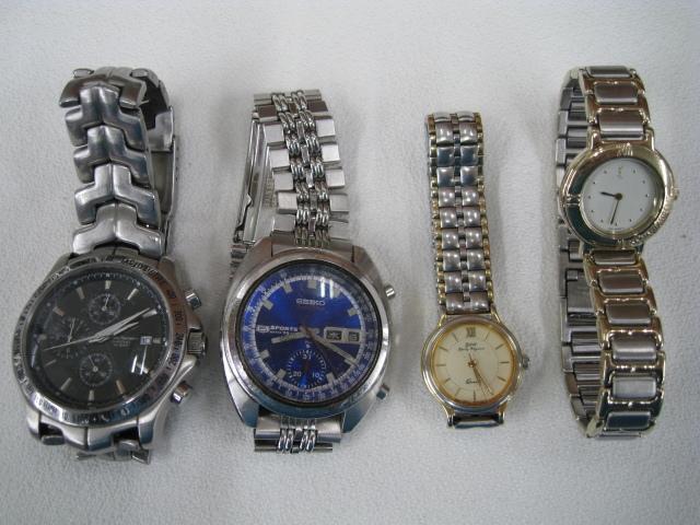 腕時計 まとめ SEIKO/SUUNTO/TAG HEUER/BALLY/G-SHOCK他 大量セット 約2kg ジャンク セイコー/スント/タグホイヤー/イヴサンローラン_画像3
