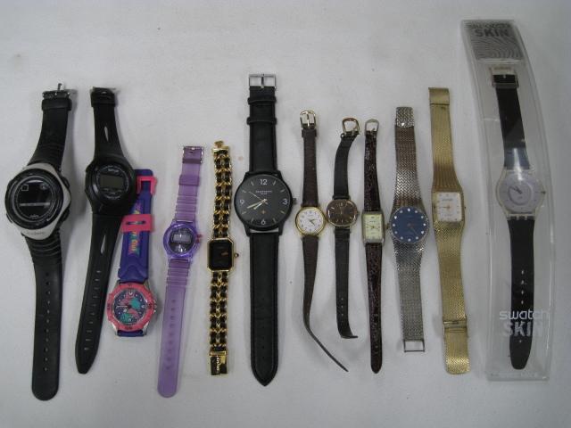 腕時計 まとめ SEIKO/SUUNTO/TAG HEUER/BALLY/G-SHOCK他 大量セット 約2kg ジャンク セイコー/スント/タグホイヤー/イヴサンローラン_画像8