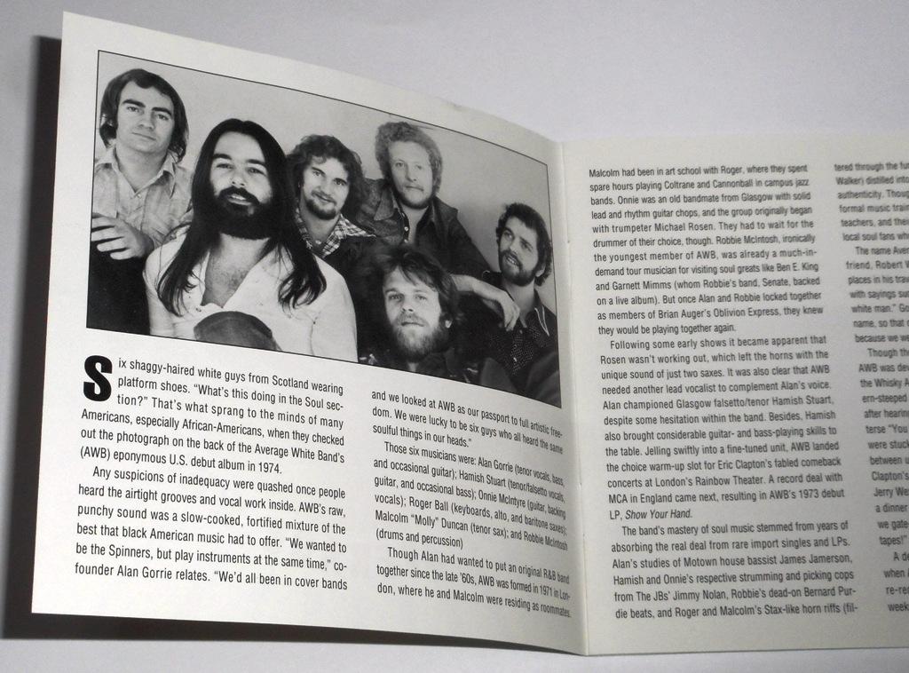 輸入盤『The Best of Average White Band』英国白人ソウルの匠,アヴェレージ・ホワイト・バンドのベスト★全米1位.Pickin' Up the Pieces_画像5